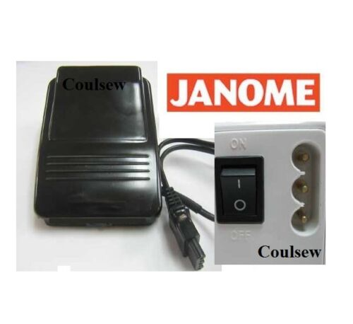 ORIGINAL JANOME SEWING MACHINE FOOT CONTROL.
