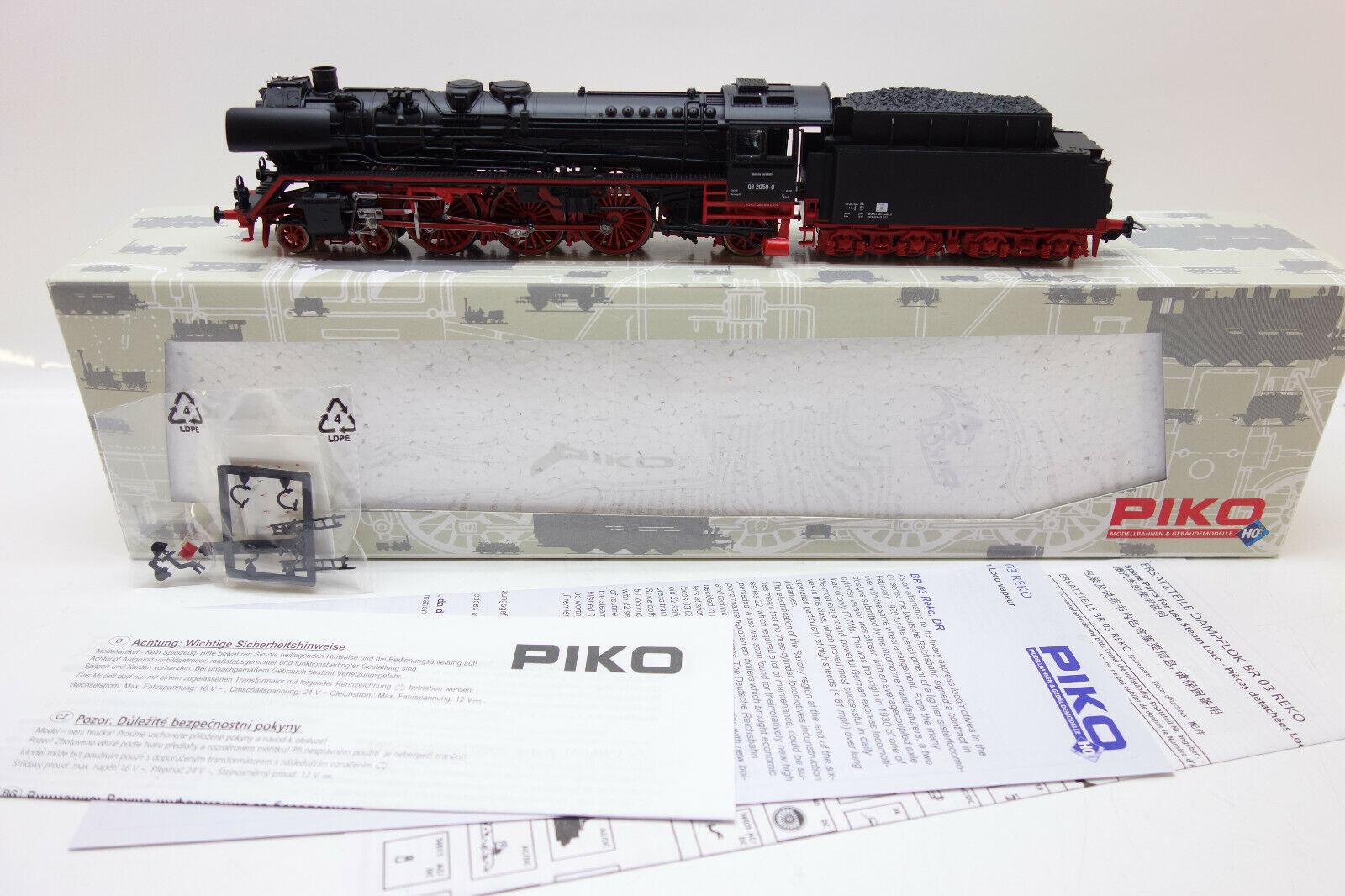 Lot 55775   Piko h0 50112 máquina de vapor br 03.0-2 de reko Dr listo en OVP