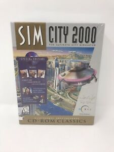 NEW-Sim-City-2000-Ultimate-Simulator-RARE-Special-Edition-PC-Comuter-Game-CD-ROM