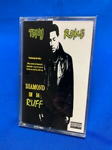 Tony Rome – Diamond In Da Ruff | Cassette Tape Album R&B Hip Hop SEALED RARE NEW