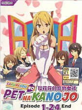 DVD Sakurasou No Pet Na Kanojo (TV 1 - 24 End) DVD + Free 1 Anime DVD