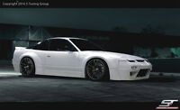 NISSAN 200SX 180SX 240SX S13 ROCKET BUNNY LOOK FULL BODY KIT NEW