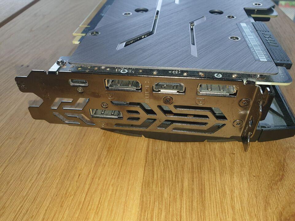 RTX 2080 Trio MSI, 8GB GB RAM, Perfekt
