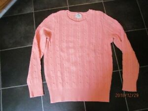 ST-JOHNS-BAY-CLASSIC-CABLE-KNIT-PULLOVER-TOP-SWEATER-NEW-S-SMALL
