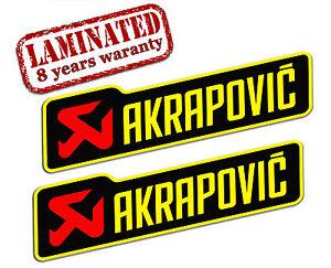 Autocollants-Sticker-Auto-Moto-Akrapovic-Echappement-Race-Exhaust ...