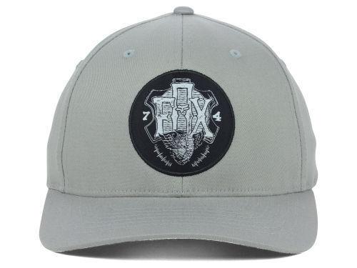 Fox Racing Limitless Logo Gray Gray Logo Stretch Fit Cap Hat  S/M & L/XL 7b84f5