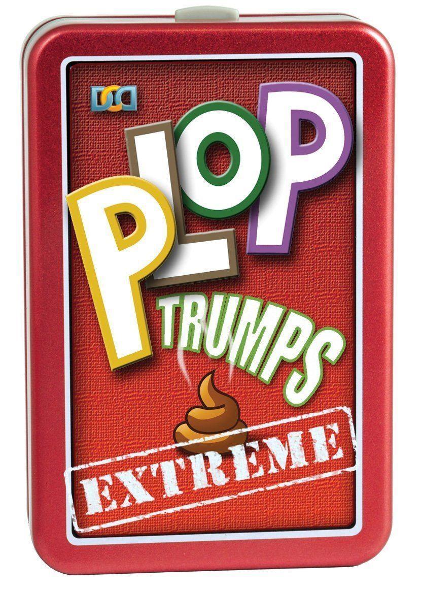 Plop Trumps Extreme Photos of Animals Poo Fun Joke Prank Novelty Kids