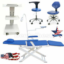 Dental Folding Portable Chair Simple Type Built In Socket Mobile Cart Trolley