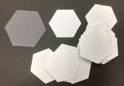 """1.5/"""" Pkg Hexagoninch 100 Pack Dritz 3231 Quilting Hexagon Paper Piecing"""