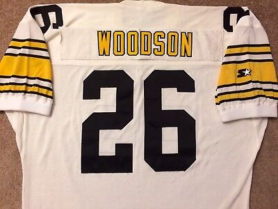 brand new aa608 a8dbf VTG AUTHENTIC 90's ROD WOODSON STEELERS NFL STARTER DURENE JERSEY 52 SEWN  RARE! | eBay