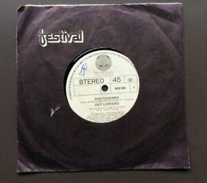 DEF-LEPPARD-Photograph-7-034-Vinyl-Single-VG-1983-Australian-Pressing-RARE