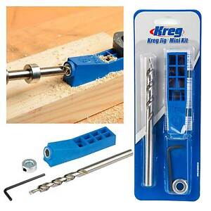 Kreg pocket hole jig mini kit with step drill bit depth collar image is loading kreg pocket hole jig mini kit with step solutioingenieria Image collections