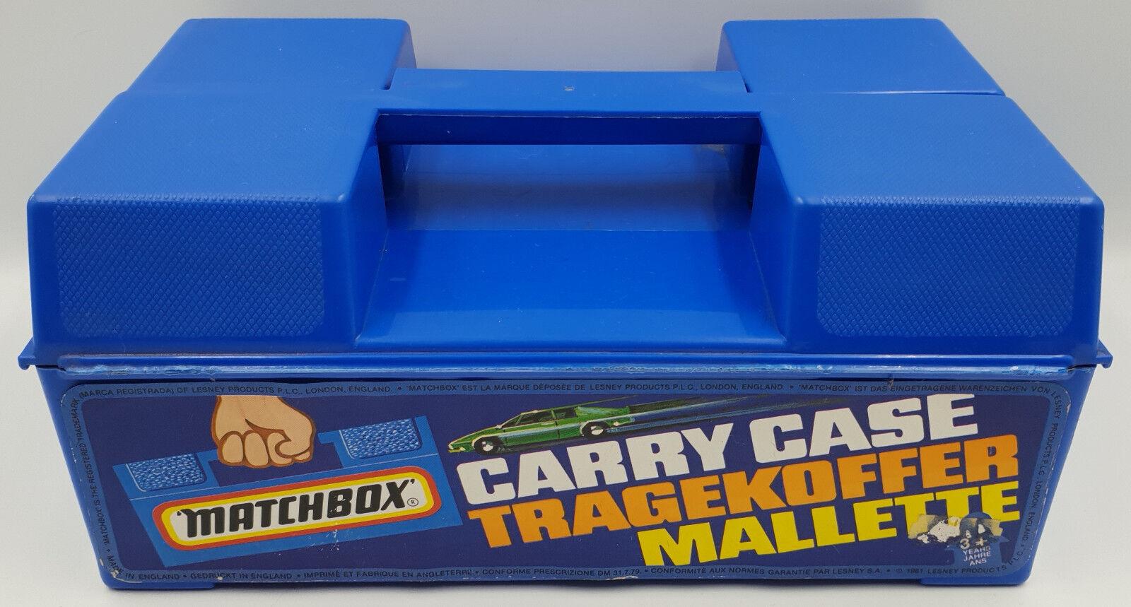 voitureS   MATCHBOX voitureRY  CASE MADE IN 1981 FOR MATCHBOX DIE voitureS MODELS (DRMP)  classique intemporel