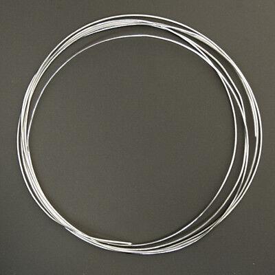 Billiger Preis 1 Meter Silberdraht; 925er Sterlingsilber 0,50 Mm Mild And Mellow