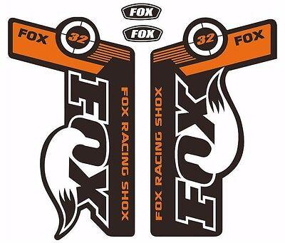 Forcela stickers stickers fork horquilla FOX 32 2018 elx88 Aufkleber decals