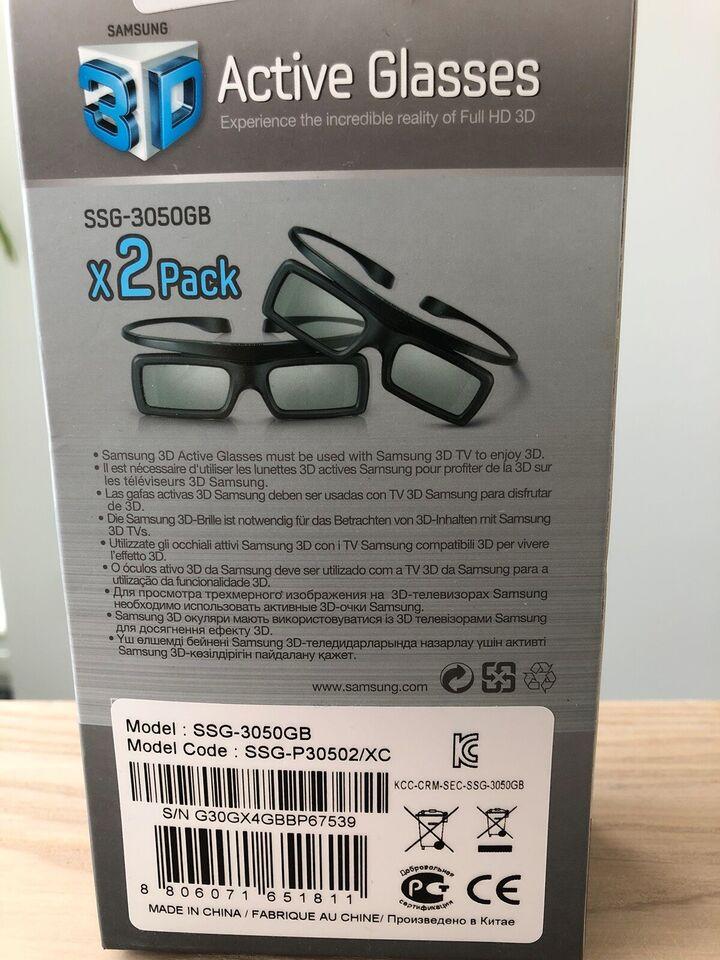 3D briller, Samsung, Perfekt