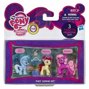 My-Little-Pony-Mini-Lot-de-3-Twist-A-Loo-Silver-Spoon-amp-Cheerilee