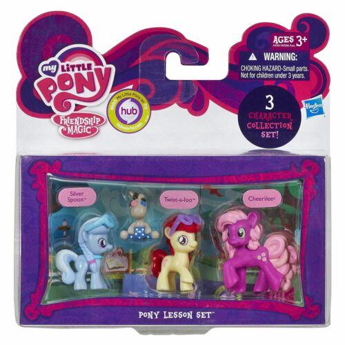 My Little Pony Mini/'s 3 Pack Silver Spoon /& Cheerilee Twist-a-Loo