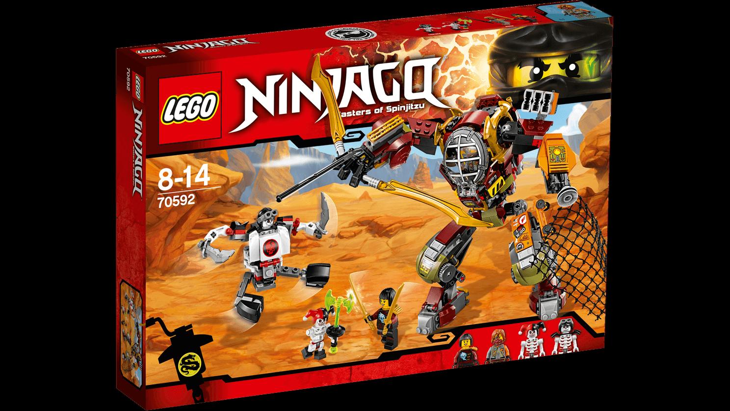LEGO Ninjago 70592   Le robot de Ronin    NEUF SCELLE