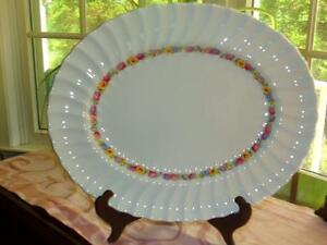 Royal-Doulton-EVESHAM-APPROX-14-7-8-034-Oval-Serving-Platter-554916-STUNNING