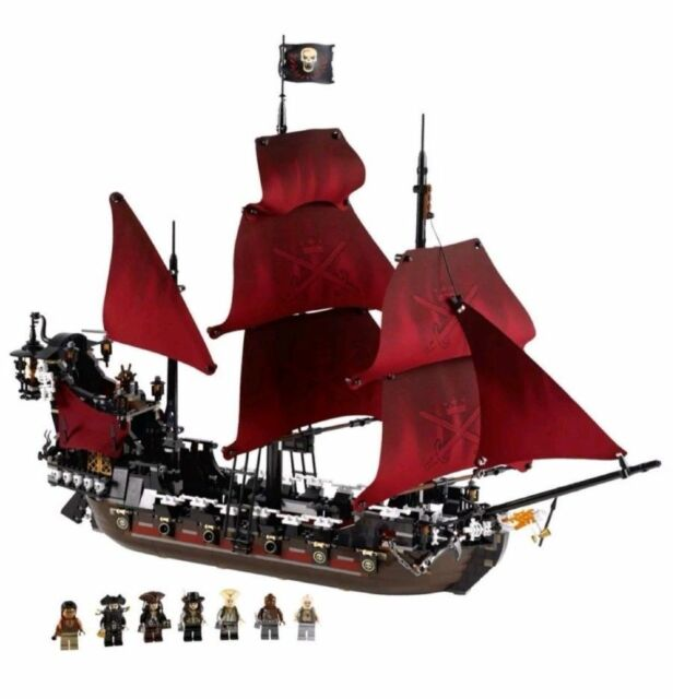 NEU Pirates of Caribbean Black Beard Bausteine Queen Anne/'s Revenge Spielzeug DE