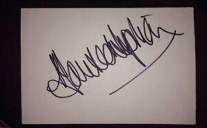 MAUREEN-LIPMAN-SIGNED-6X4-WHITE-CARD-TV-AUTOGRAPH-CORRIE-amp-THE-PIANIST