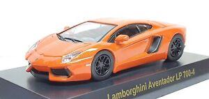 1-64-Kyosho-LAMBORGHINI-AVENTADOR-LP-700-4-ORANGE-diecast-car-model