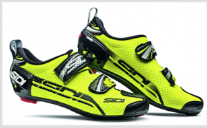 SHOES SIDI T 4 AIR CARBON  YELLOW FLUO black N. 42  the best after-sale service