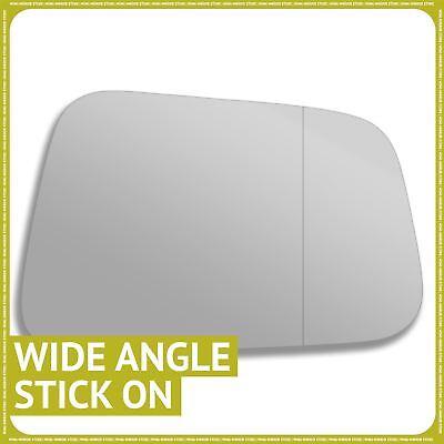Left hand passenger side for Honda Jazz 05-08 wing mirror glass