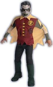 Zombie Robin DC Comics Blackest Night Fancy Dress Up Halloween Child Costume
