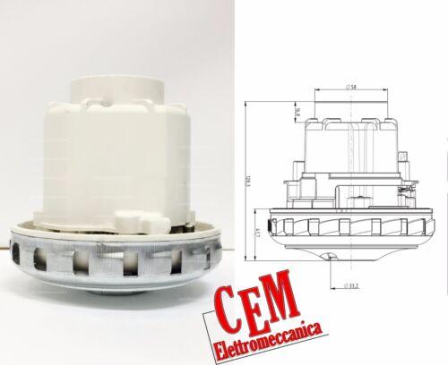 Motore aspirapolvere 1350 W Domel 467.3.402-5 per Lavor ventix