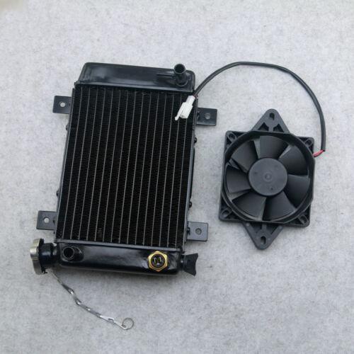 270mm Water Cooled Radiator Cooler Fan 150cc 250cc PIT Quad Dirt Bike ATV Buggy