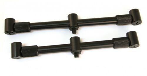 Rutenauflage Fox Black Label 3-Ruten Adjustable XL Buzzer Bars für Karpfenruten
