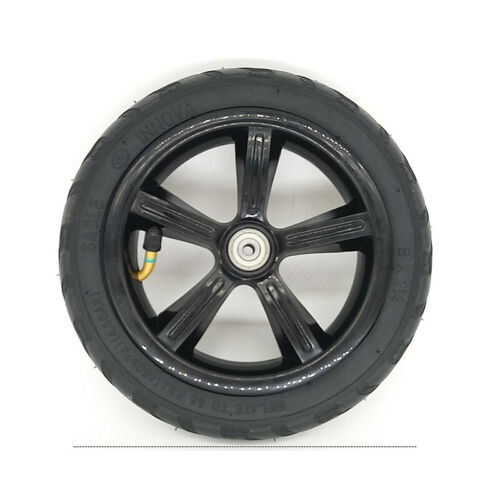 1x Rubber 8/'/' Inflatable Full Wheel Tire Assembly For Electric Scooter Stroller