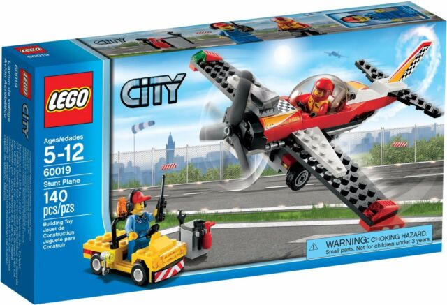 LEGO City Stunt Plane (#60019)(Retired 2013)(Very Rare)(NEW)