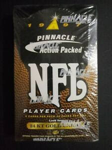 1997-Pinnacle-Action-Packed-Football-Box-Factory-Sealed-24-Packs