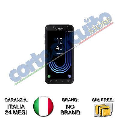 "SAMSUNG GALAXY J5 DUAL SIM 2017 NERO BLACK 5.2"" 16GB 4G 13MP GAR ITALIA NO BRAND"