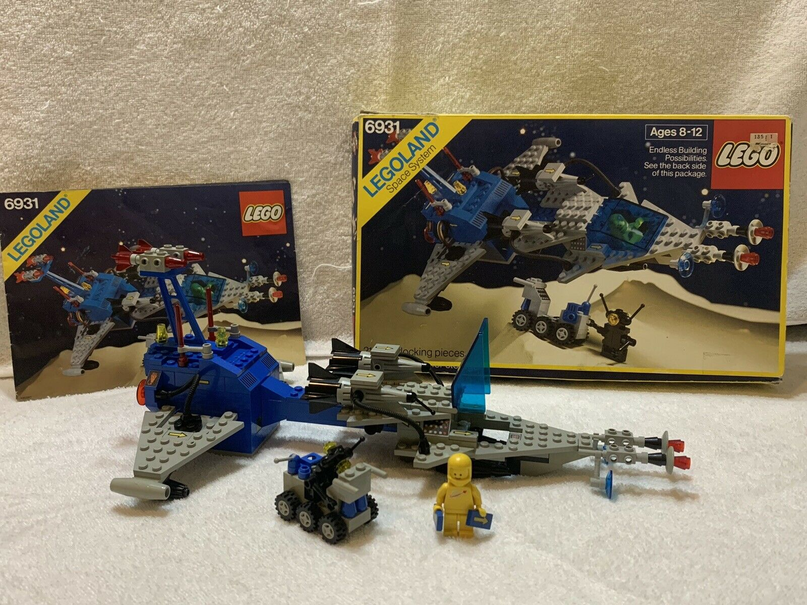 Lego Set 6931 FX Star Patroller Space Ship 100%  W  INSTRUCTIONS AND BOX