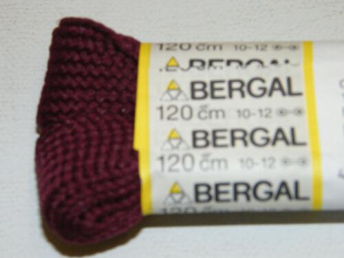 BERGAL BORDEAUX FAT LACES 25mm BREIT 120cmLANG SENKEL SNEAKER CHUCKS SPORTSCHUHE