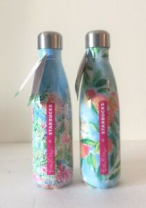 a713f235f1 Image is loading 2-Starbucks-Lilly-Pulitzer-Swell-Bottles-Limited-Edition-