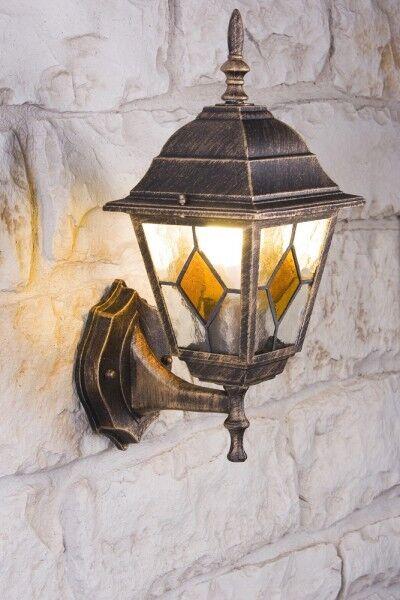 Applique Lampe extérieure Lampe murale Lanterne de jardin Dessin Classique 8857