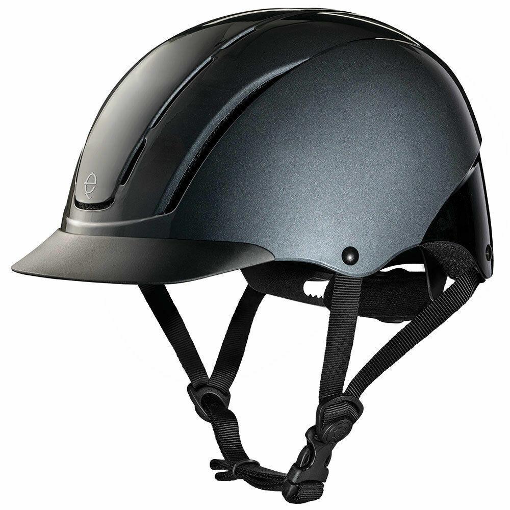 Troxel Spirit Smoke Riding Helmet All-Purpose-XS