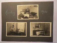 Hamburg - 1941 - Wohnung mit Wohnzimmer Arbeitszimmer und Esszimmer / 3x Foto
