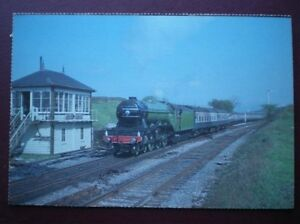 POSTCARD-CLASS-A3-LOCO-NO-4472-FLYING-SCOTSMAN-AT-SETTLE-JUNCTION