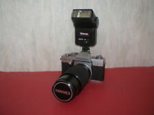 Quality vintage praktica ltl mm slr camera c w helios mm