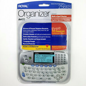Brand-NEW-Royal-Organizer-dm4070-256kb-RoyalGlo-backlit-display