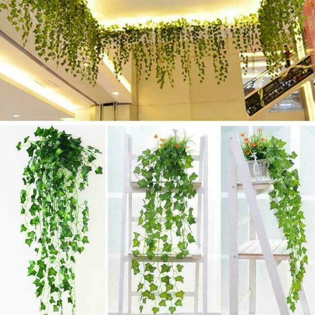 12x 7 5ft Artificial Ivy Vine Fake Foliage Flower Leaf Garland Plant Home Decor For Sale Online Ebay