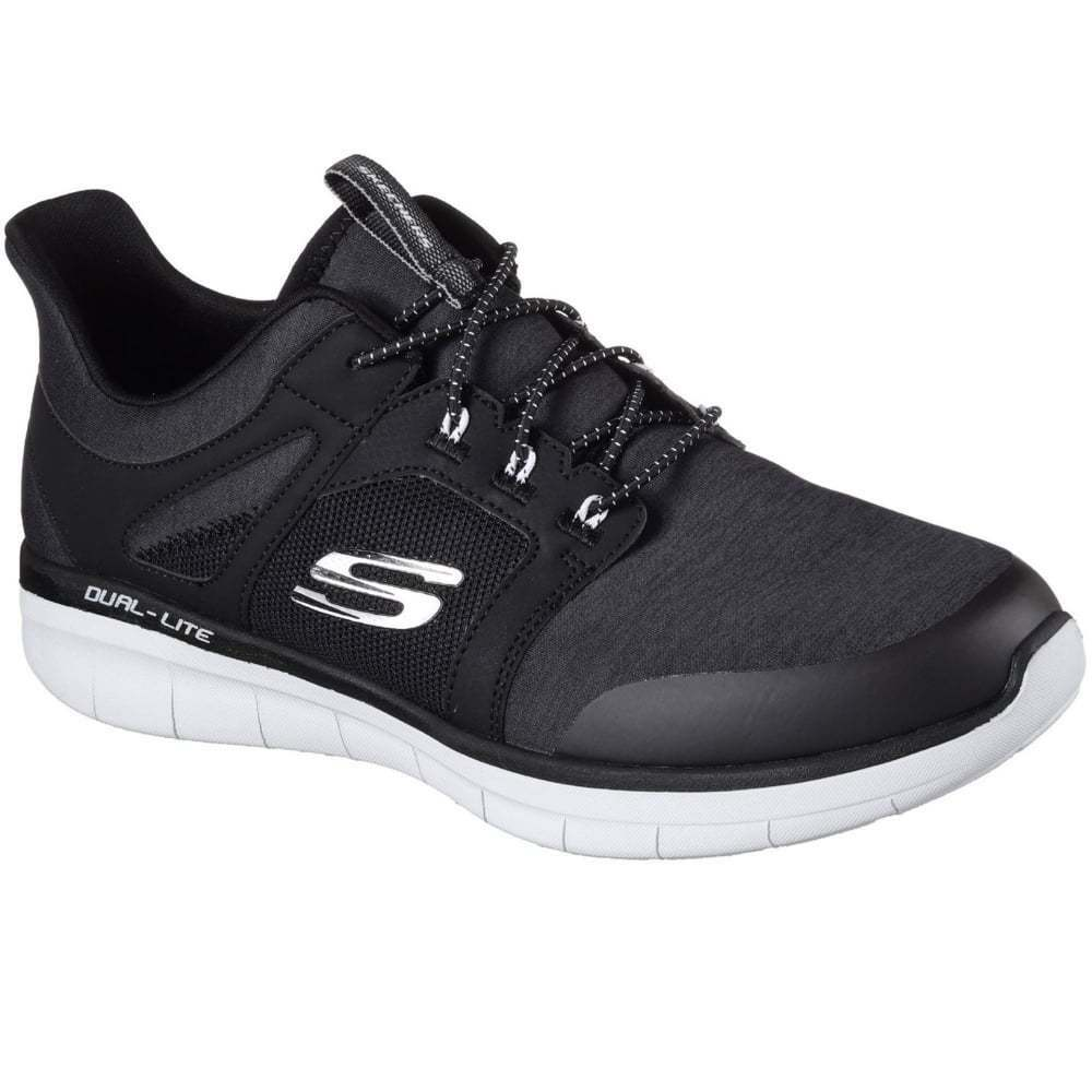 Skechers Synergy 2.0 Chekwa Mens Slip-On Trainer Cheap women's shoes women's shoes