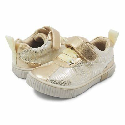 NEW Livie /& Luca girls sneakers toddler size 6-13 SPIN in Cream Tinsel
