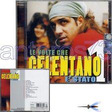 """ADRIANO CELENTANO """"LE VOLTE CHE CELENTANO E' STATO 1"""" CD 2003 CLAN SONY - SEALED"""
